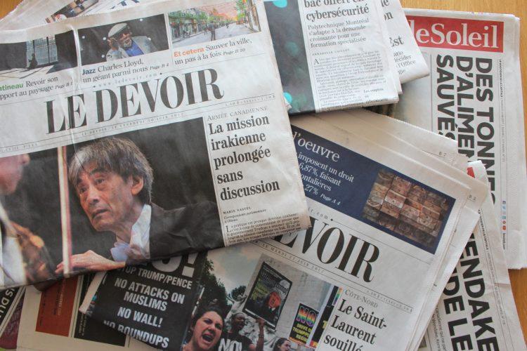 Les médias nous inondent-ils de mauvaises nouvelles?