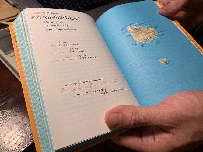 L'atlas des îles fantômes