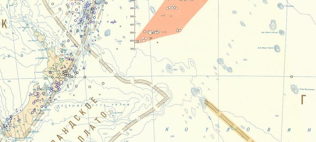Les récifs Ernest-Legouvé et Maria-Theresa, et quelques autres objets fantômes de la même région